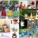 15 ไอเดีย DIY โคมไฟตกแต่งสวน จากของเหลือใช้ เสริมความสวยงามให้กับสวนหย่อมของคุณ
