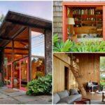 บ้านสวนสไตล์โมเดิร์น ตกแต่งด้วยงานไม้และกระจกทั้งหลัง พร้อมชั้นลอย มากับบริบทแบบธรรมชาติ