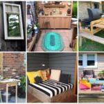 22 ไอเดียตกแต่งสวนหลังบ้าน DIY ของใช้เก่า สร้างเป็นของใหม่ รองรับการใช้งาน ที่มากับความสวยงาม