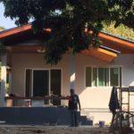 ปลูกบ้านหลังน้อยในพื้นที่ต่างจังหวัด ราคาประหยัด ใช้งบประมาณ 3 แสนกว่าบาท