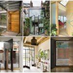 """ไอเดีย """"ประตูและทางเข้าบ้าน"""" 50 รูปแบบ ที่ตกแต่งในสไตล์โมเดิร์น วัสดุหลากหลาย สะท้อนรสนิยมของผู้อาศัย"""