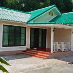 บ้านชั้นเดียว 2 ห้องนอน 1 ห้องน้ำ สวยเรียบง่าย กลิ่นอายคลาสสิค งบก่อสร้างไม่เกิน 700,000 บาท