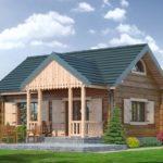 บ้านไม้สไตล์คอทเทจ ขนาดกะทัดรัด 1 ห้องนอน 1 ห้องน้ำ ไอเดียที่เหมาะกับบ้านสวน ใต้ร่มเงา