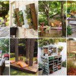 24 ไอเดีย ตกแต่งสวนหลังบ้าน DIY ของเหลือใช้ ผสานเข้ากับพรรณไม้ สวยงาม ร่มรื่น และประหยัดงบประมาณ