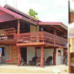 บ้านกึ่งไม้กึ่งปูนขนาดสองชั้น ดีไซน์ไทยดั้งเดิม เข้ากับวิถีชีวิตที่เรียบง่ายของชนบท