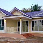 บ้านหลังเล็กดีไซน์วินเทจน่ารัก สำหรับครอบครัวเริ่มต้น 2 ห้องนอน 1 ห้องน้ำ งบประมาณ 660,000 บาท