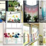 16 ไอเดียตกแต่ง โมบายหน้าต่าง DIY ด้วยของใกล้ตัว เพิ่มความน่ารักให้การบ้านของคุณ