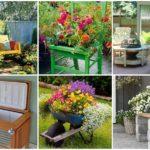 รวมไอเดียของตกแต่งสวน 25 รูปแบบ จากการรีไซเคิล และ DIY สร้างสวนหย่อมสวยงาม มีเอกลักษณ์