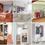 25 ไอเดีย เคล็ดลับการสร้างพื้นที่ใช้งานเพิ่มเติม ของห้องนอนขนาดเล็ก ที่ใครๆก็ทำได้
