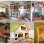 20 ไอเดีย พื้นที่นั่งเล่นสำหรับเด็ก ในธีมบ้านหลังเล็ก สวยงาม สร้างสรรค์ เพิ่มพัฒนาการ