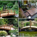 24 ไอเดีย ตกแต่งสวนด้วยสะพานข้ามน้ำ ไปสู่สวนหลังบ้าน ดีไซน์หลากหลาย วัสดุจากงานไม้