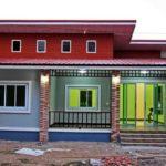 บ้านชั้นเดียวสไตล์โมเดิร์นทรอปิคอล 2 ห้องนอน 1 ห้องน้ำ ออกแบบ ซื้อวัสดุ และคุมงานด้วยตัวเอง รวมหมดทุกอย่าง 530,000 บาท