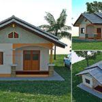 แบบบ้านชั้นเดียวสไตล์ชนบท 3 ห้องนอน ออกแบบสำหรับพื้นที่แคบ ในรูปแบบที่เรียบง่ายและพอเพียง