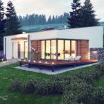 บ้านตากอากาศสไตล์โมเดิร์น ดีไซน์เรียบง่าย อัดแน่นไว้ 3 ห้องนอน 3 ห้องน้ำ บนพื้นที่ที่จำกัด
