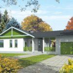 บ้านสวนออกแบบเรียบง่าย ขนาดกะทัดรัด 3 ห้องนอน 2 ห้องน้ำ ท่ามกลางสวนร่มรื่น
