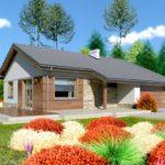 บ้านเดี่ยวสไตล์ร่วมสมัย อัดแน่นไว้ 3 ห้องนอน 1 ห้องน้ำ รองรับการใช้งานของครอบครัวขนาดเล็ก