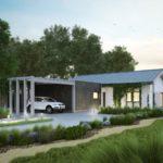 บ้านเดียวสไตล์ร่วม ออกแบบเรียบง่าย ผสมความเป็นโมเดิร์น เหมาะกับครอบครัวแรกเริ่ม 3 ห้องนอน 2 ห้องน้ำ