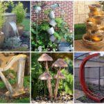 """24 ไอเดียแต่งสวนด้วย """"น้ำพุและอ่างน้ำล้น"""" เติมเต็มความร่มรื่นให้แก่สวนหลังบ้านของคุณ"""