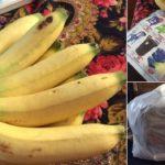 """แบ่งปันวิธีถนอมอาหาร """"เก็บกล้วยยังไงให้อยู่ได้นาน??"""" ง่ายนิดเดียว!!"""