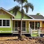 แบบบ้านยกพื้นแนวรีสอร์ท มีระเบียงพักผ่อนแสนสบาย สร้างง่ายอยู่เร็ว งบประมาณไม่ถึงล้าน