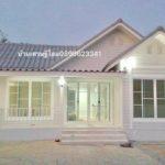 แบบบ้านสีขาวสไตล์วินเทจ 2 ห้องนอน 1 ห้องน้ำ อัดแน่นไปด้วยบรรยากาศที่แสนอ่อนโยนและอบอุ่น