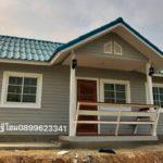 บ้านหลังเล็ก กะทัดรัด สไตล์ร่วมสมัย 2 ห้องนอน ในงบ 770,000 บาท