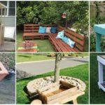 23 ไอเดีย DIY ไม้พาเลท รังสรรค์ให้เป็นเฟอร์นิเจอร์นอกบ้าน ตกแต่งพื้นที่พักผ่อนกลางแจ้ง