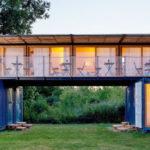 บ้านพักจากตู้คอนเทนเนอร์ ไอเดียที่เหมาะกับการประยุกต์สร้างร้านกาแฟ หรือบ้านพักเชิงธุรกิจขนาดเล็ก
