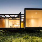 บ้านแนวตากอากาศ โครงสร้างเหล็กยกพื้น ท่ามกลางบรรยากาศบนเนินเขา