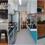 """16 ไอเดีย """"ห้องครัวพื้นที่แคบ"""" ฟังก์ชันครบครันในพื้นที่จำกัด พร้อมดีไซน์ที่สวยงามน่าใช้งาน"""