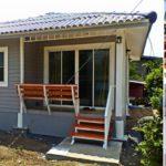แบบบ้านชั้นเดียวทรงปั้นหยา 2 ห้องนอน เรียบง่ายกะทัดรัด สัมผัสความอ่อนโยนเต็มพื้นที่