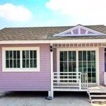 บ้านสีม่วงหลังเล็กกะทัดรัด ดูอ่อนหวาน เรียบง่าย มีเสน่ห์ชวนหลงใหลตั้งแต่มองครั้งแรก