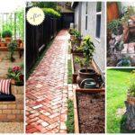 10 ไอเดีย แต่งสวนสวยด้วยอิฐมอญแดง สวยงาม มีเสน่ห์ ดูแลง่าย ราคาก็ไม่แพงอย่างที่คิด