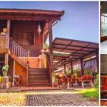 บ้านไม้ทรงไทย กลิ่นอายย้อนยุค ด้วยงานศิลปะและสถาปัตยกรรมแบบดั้งเดิม