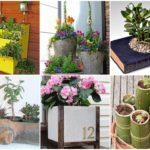 24 ไอเดีย DIY กระถางดอกไม้จากของเหลือใช้ ประหยัดงบไปได้อีก