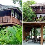 บ้านไม้ยกสูงมีใต้ถุน สไตล์ไทยล้านนา บรรยากาศเงียบสงบกลางป่า ตอบรับการใช้ชีวิตของคนไทย
