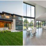 บ้านสองชั้นหลังใหญ่สไตล์ร่วมสมัย ตกแต่งสวยงาม แทรกความภูมิฐานแบบเต็มๆ