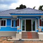 บ้านชั้นเดียวแสนสวย โทนสีสดใสแบบตามใจฉัน 3 ห้องนอน 2 ห้องน้ำ งบประมาณ 8 แสนต้นๆ