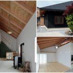 บ้านชั้นเดียวแนวญี่ปุ่น ภายนอกสีดำแต่ภายในสีขาว พร้อมการตกแต่งแบบมินิมอลสุดเจ๋ง