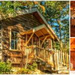 บ้านล็อคเคบิน เสน่ห์ดิบๆ จากงานไม้ ชวนเคลิบเคลิ้มไปกับธรรมชาติที่อบอุ่นและน่าสัมผัส