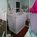 คุณแม่สร้างบ้านของเล่นสุดน่ารักให้ลูกน้อย จากท่อ PVC ด้วยงบประมาณไม่ถึง 1,000 บาท!!