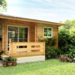 บ้านกระท่อมไม้หลังเล็ก ตกแต่งอบอุ่นเรียบง่าย ไอเดียแรกเริ่มสำหรับธุรกิจบ้านพักขนาดย่อม