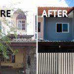เปลี่ยนทาวน์เฮ้าส์เก่าสภาพโทรม ให้กลายเป็นบ้านใหม่สุดชิค สีสันสดใส ด้วยงบไม่เกิน 4 แสนบาท