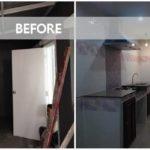 ต่อเติมห้องครัวไซส์เล็กฉบับบ้านทาวน์เฮาส์ ใช้งานพื้นที่ว่างเปล่าข้างบ้านได้อย่างคุ้มค่า
