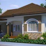 บ้านชั้นเดียวขนาดเล็ก ดีไซน์สวยโทนสีเด่น อัดแน่นไว้ 3 ห้องนอน 1 ห้องน้ำ ออกแบบสำหรับครอบแรกเริ่ม