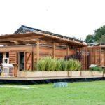 แบบบ้านไม้พลังงานแสงอาทิตย์ นวัตกรรมใหม่แห่งอนาคต ช่วยประหยัดพลังงาน