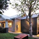 บ้านกลางสวน ตกแต่งภายในด้วยงานไม้ เน้นโชว์ความงดงามของโครงสร้าง