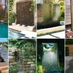 รวม 49 ไอเดียตกแต่งสวน ด้วยการสร้างน้ำตก บ่อน้ำพุ บ่อน้ำล้น เพิ่มเติมการพักผ่อนด้วยเสียงน้ำ และธรรมชาติ