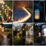 """17 ไอเดีย """"DIY ไฟสนาม"""" ตกแต่งสวนหย่อม ให้สวยงามทั้งกลางวันและกลางคืน"""