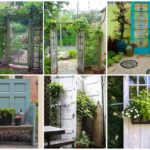 """รวม 17 ไอเดีย """"ของแต่งสวนจากประตูเก่า"""" สารพัดประโยชน์ใช้สอยสำหรับสวนแสนรักของคุณ"""